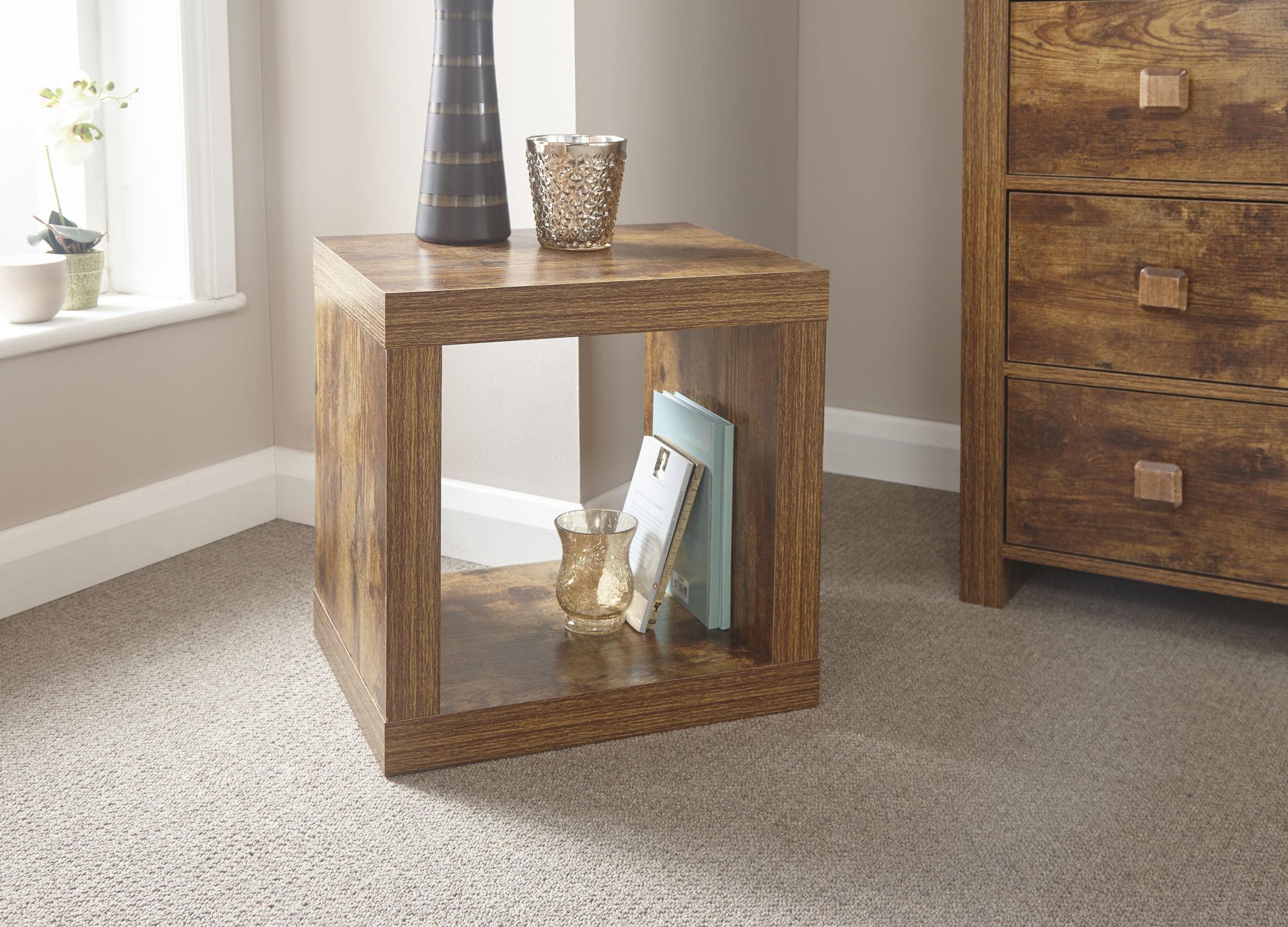 Jakarta Mango Wood Living Room Cube Coffee Table Furniture Uk Free Delivery Ebay