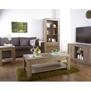 Nevada Textured Oak Living Room Collection