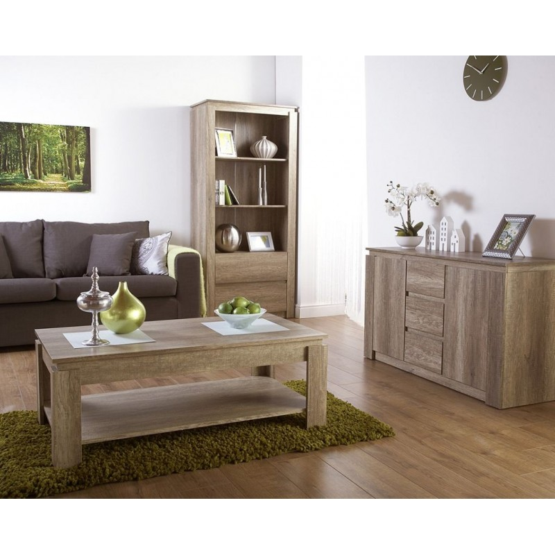 Admirable Canyon Oak 3D Effect Sideboard Contemporary Design Download Free Architecture Designs Scobabritishbridgeorg