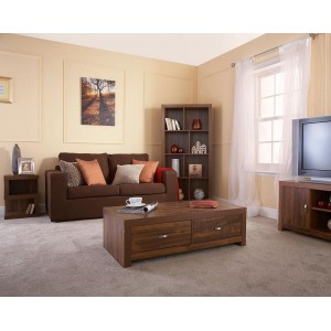 Melbourne Acacia Wood Living Room Collection
