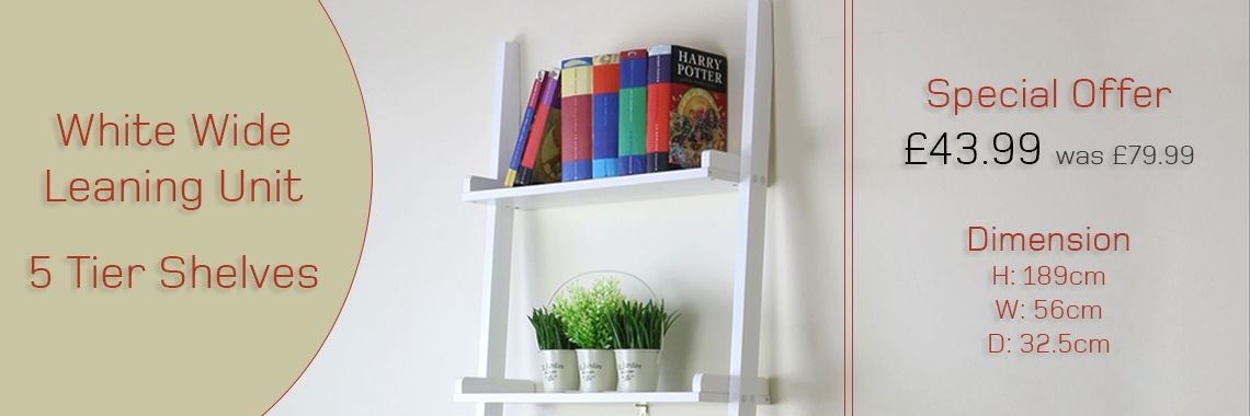 Cyprus Ladder Shelving Unit