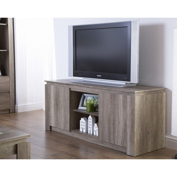 Canyon Oak 3D Effect TV Unit