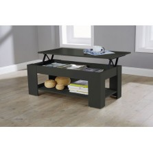Lift Up Storage Coffee Table Espresso Finish