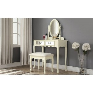 Stunning Mirroed Dressing Table in Ivory