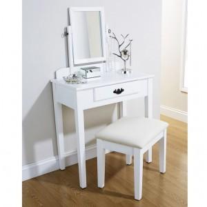 Simple Shaker Dressing Table White