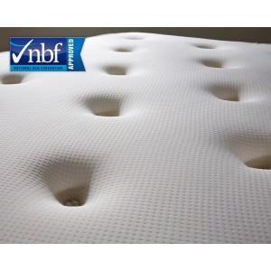 Luxury Tufted Mattress 3ft Single Bonnel Spring & Memory Foam