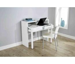 Modern Design Regis Extending Console Table in White