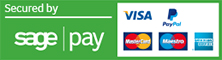 We accept all major credit/debit card payments